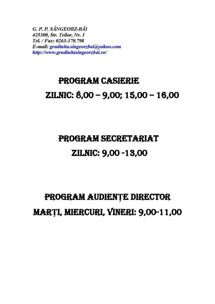 Program-casierie-secretariat-audiente-director